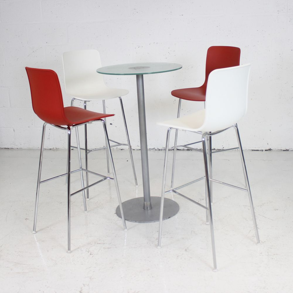 Vitra Hal Stool Various Colours Available High Stool